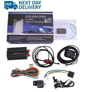 GPS Car Tracker with GPRS and Vehicle Theft Protection Alarm System TK103A