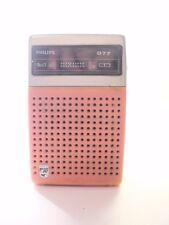 VINTAGE PHILIPS 90 RL-077 RADIO AM 6 TRANSISTORS MADE IN JAPAN 1960'S
