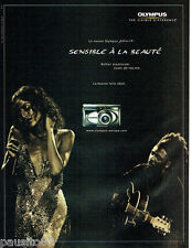 PUBLICITE ADVERTISING  026  2002  Olympus  appareil photo Zoom 38 105mm