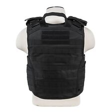 NcStar VISM BLACK Tactical MOLLE Operator Plate Carrier Body Armor Chest Rig NEW