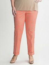 LANE BRYANT Daisy Cuffed Pants Sz 22 New