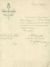 Messaggio di S. A. Reale Vittorio Emanuele di Savoia Aosta Conte di Torino 1900