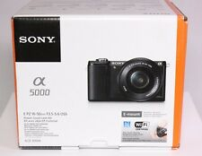 Sony Alpha a5000 Mirrorless Digital Camera with 16-50mm Lens (Black)