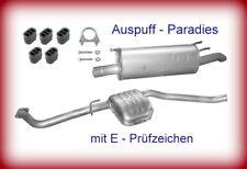 Auspuffanlage Abgasanlage Auspuff Opel Omega B 2.5TD & 2.5DTi Caravan/Kombi +Kit