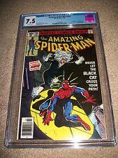 Amazing Spider-man #194 CGC 7.5 Beauty Classic Key 1st Black Cat Hardy New Movie