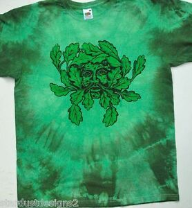 greenman t shirt pagan gothic wicca  FESTIVAL