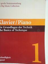 Piano de los conceptos básicos de la técnica Vol 1 Velocidad M. babinsky