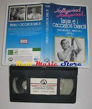 film VHS TARZAN E I CACCIATORI BIANCHI J. Weissmuller HOLLYWOOD (F17) no dvd