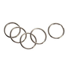 144pc Silver Tone 23mm Round Split Rings Key Ring Jewelry Findings