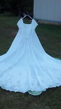 White wedding dress plussize 26