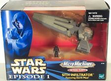 STAR WARS ACTION FLEET DARTH MAUL'S SITH INFILTRATOR MIB Phantom Menace