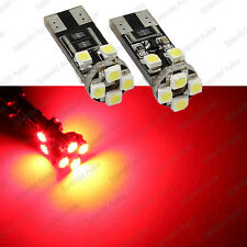 Brilliant Red T10 Error Free BMW Angel Eyes LED Light Bulbs Pre-LCI (2 Pieces)