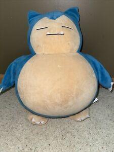 "Build a Bear Snorlax Pokemon Plush 16"" Regular Size"