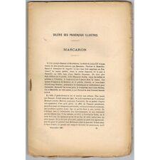 Revue de MARSEILLE et de PROVENCE J. MASCARON Mgr Surian Monnaie Massaliote 1886