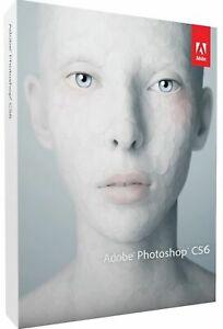 Adobe Photoshop CS6 Vollversion Windows + Mac Mwst