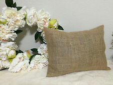 12x16-Burlap Throw Pillow Cushion Cover French Country Decor