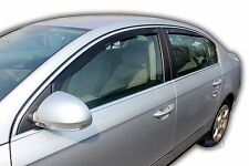 DVW31154 VW Passat B6 B7 4 Door saloon wind deflectors 2005-2011 4pc TINTED HEKO