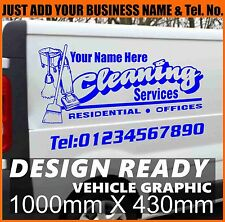 Cleaning Vehicle Graphics Self Adhesive Vinyl Sticker Decal Custom Sign Making
