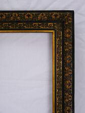 Cadre ancien vers 1870 époque Napoléon III Vue :In 41,5x34,8 cm / out : 52x45cm