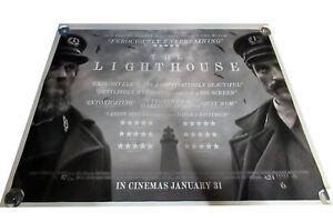The Lighthouse movie UK quad poster ORIGINAL D/S Dafoe Pattinson Robert Eggers