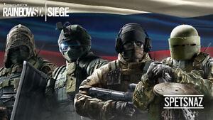 Tom Clancy's Rainbow Six Siege Video Game Poster Art Print Wallpaper 24x42 inch