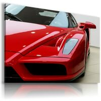 FERRARI ENZO RED TIRES Sports Cars Wall Art Canvas Picture  AU836 MATAGA .