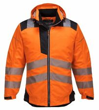 Portwest T400OBRM Jacket Vision Rain and High Visibility. Orange Size M