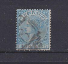 CEYLON 70 Victoria 1872 used 36 cents