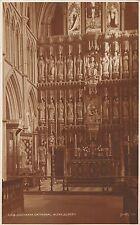 BR69290 southwark  cathedral altar screen london  uk judges 168 real photo