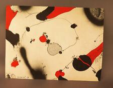 8505:Lithografie bzw. Kunstblatt von JOSEP GUINOVART, datiert 1978, ohne Titel.