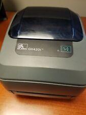 Zebra GX420T Monochrome Serial Parallel USB Thermal Label Printer