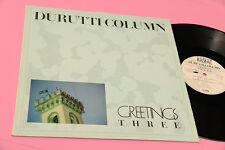 "DURUTTI COLUMN 12"" GREETINGS THREE ORIG ITALY 1986 NM MATERIALI SONORI LABEL"