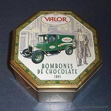Boîte fer blanc métallique Chocolats de epoque, Marque Valeur