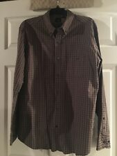 Mens Dress Shirt By J. Ferraro Size XL in very good pre-owned condition!