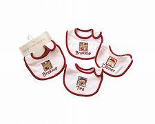 Christmas Baby Bibs Pack of 3 - Santa Snowman Reindeer