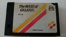 THE MAZE OF GALIOUS - MSX RC749 (Konami) 1987
