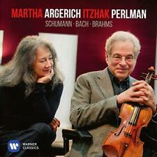 Martha Argerich And Itzhak Perlman - Bach And Schumann (NEW CD)