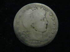 1913 US BARBER QUARTER 25 CENT COIN