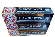 3 x Arm & Hammer Toothpaste Charcoal White