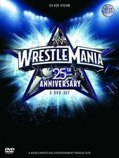 WWE Wrestlemania 25th Anniversary (DVD, 2009, 3-Disc Set)
