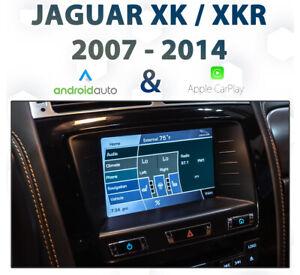 Jaguar XK 2007-15 Factory audio Apple CarPlay & Android Auto Integration