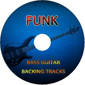 FUNK BASS GUITAR BACKING TRACKS CD JAM PLAY ALONG MUSIC BEST OF IN THE STYLE OF