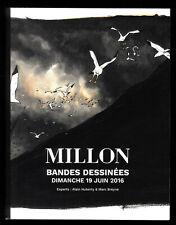 Katalog Verkauf den Auktion Streifen Comic Millon Chaboute/Franquin 06/2016