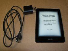 "AMAZON KINDLE VOYAGE (7th Generation) 6"" 4GB (Wi-Fi) E-Reader BLACK"