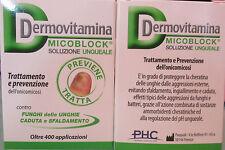 Dermovitamina MICOBLOCK solution prevention and treatment mushroom fall nail