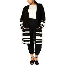 Style & Co. Womens Wool Blend Long Cardigan Sweater Jacket Plus BHFO 8721
