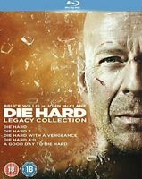 Die Hard: Legacy Collection Blu-ray [Region B] Bruce Willis 5-Movie Collection