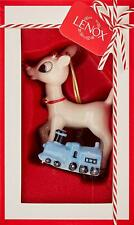 2018 Rudolph With Misfit Toy Train Ornament by Lenox - 879475