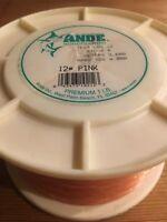 Ande Premium Monofilament 12 Lbs. test, 1 Lb Spool Appr. 4,000 Yrds. +/-