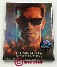 TERMINATOR 2: JUDGEMENT DAY Blu-ray STEELBOOK [NOVAMEDIA] LENTICULAR OOS/OOP
